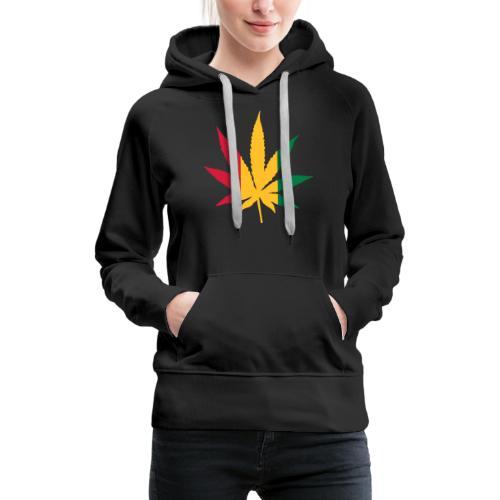 Cannabis Rastafari - Frauen Premium Hoodie
