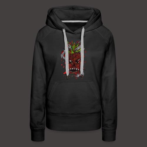 PEEN APPLE KNIFE - Sweat-shirt à capuche Premium pour femmes