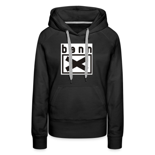 logo bennx VECT - Sweat-shirt à capuche Premium pour femmes