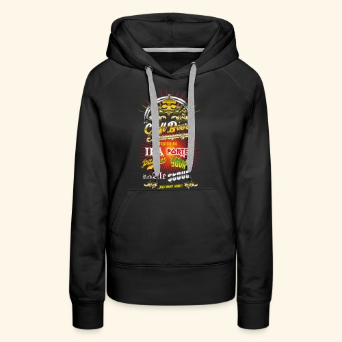 Bier-Shirt Craft Beer Extravaganza - Frauen Premium Hoodie