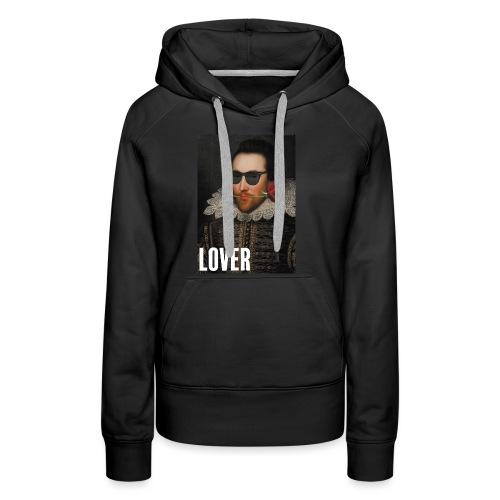 Shakespeare, ce lover - Sweat-shirt à capuche Premium pour femmes
