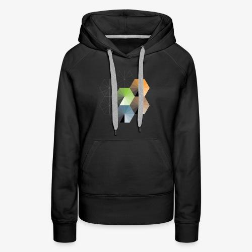 Hexagon - Women's Premium Hoodie