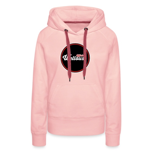 Wellouss Fan T-shirt | Rood - Vrouwen Premium hoodie