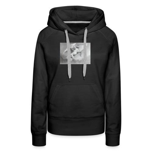 Pegase - Sweat-shirt à capuche Premium pour femmes