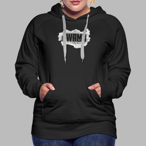 Logo Fix2 - Sweat-shirt à capuche Premium pour femmes