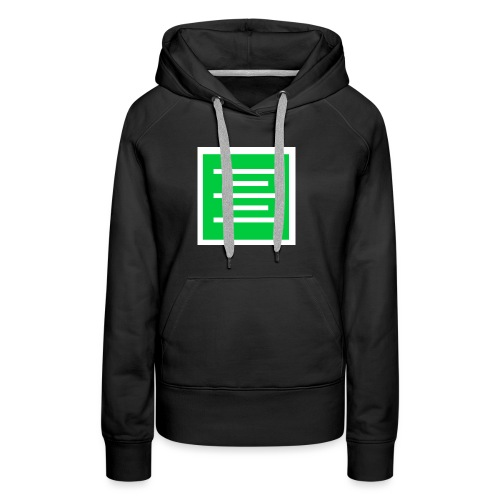 Please Insert Random Information Here Logo - Women's Premium Hoodie