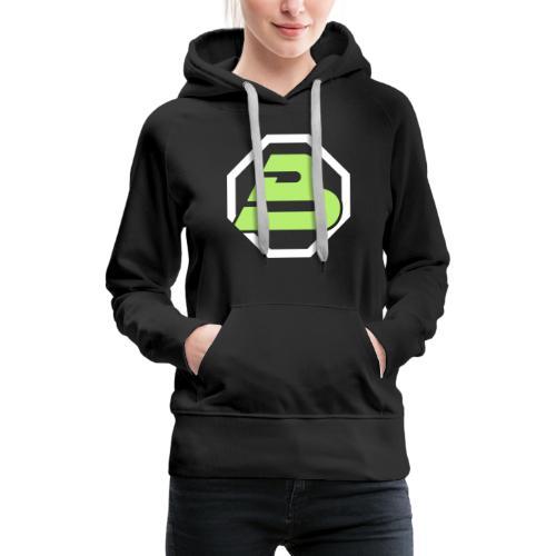 Blacktron 2 - Sweat-shirt à capuche Premium pour femmes