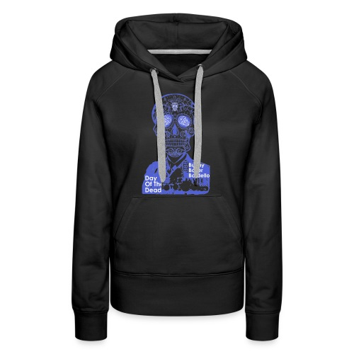 BBB-Day-Of-The-Dead-Blue - Women's Premium Hoodie