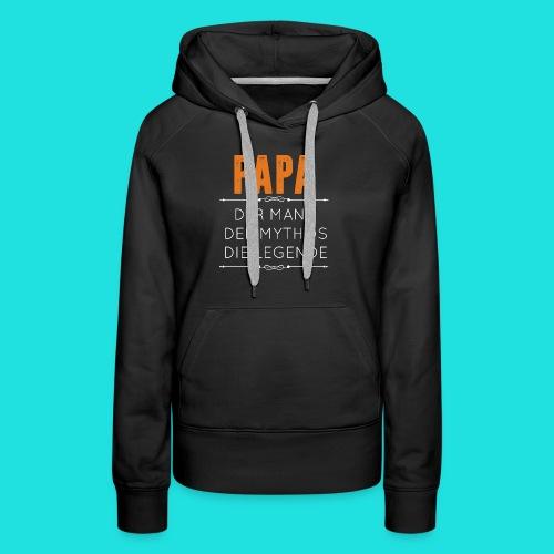 Papa - Frauen Premium Hoodie