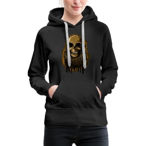 Skull in Chains YeOllo - Women's Premium Hoodie