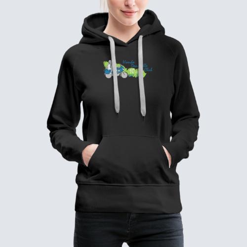 HDC jubileum logo - Vrouwen Premium hoodie