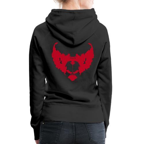 eddie de clown - Vrouwen Premium hoodie