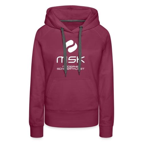 Logo_mit_schrift_2zeilig_ - Frauen Premium Hoodie