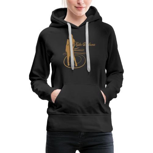 frau p1 - Frauen Premium Hoodie