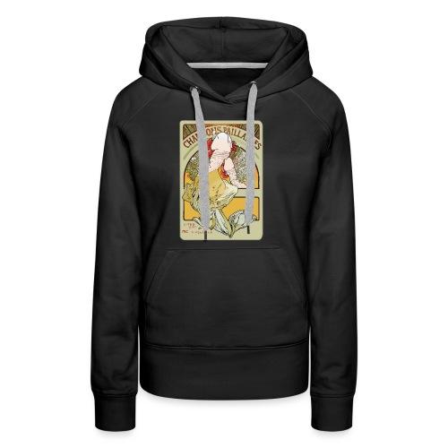 Muchibre - Sweat-shirt à capuche Premium pour femmes