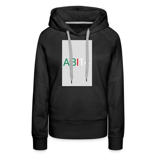 ABI14 - Sweat-shirt à capuche Premium pour femmes