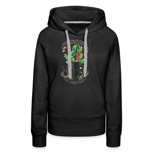 Clandestinu Ribellu - Sweat-shirt à capuche Premium pour femmes