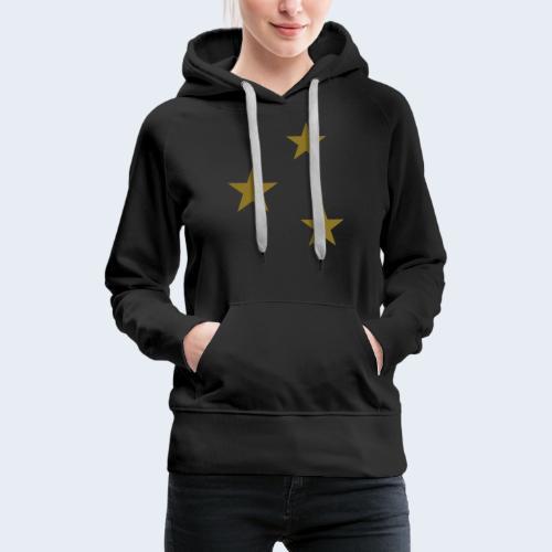 3 Stars - Vrouwen Premium hoodie