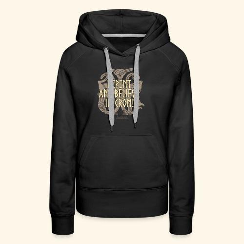 Crom T Shirt - Frauen Premium Hoodie