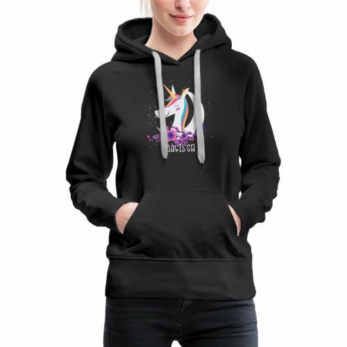 Magisches Einhorn - Frauen Premium Hoodie