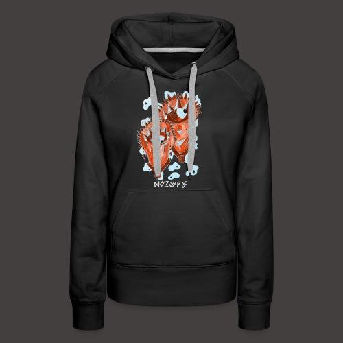 Gémeaux Négutif - Sweat-shirt à capuche Premium pour femmes