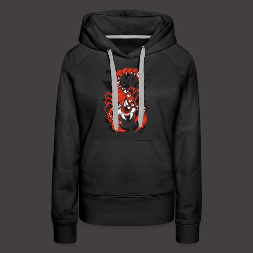 Scorpion original - Sweat-shirt à capuche Premium pour femmes