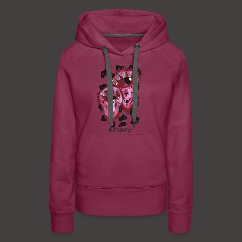 Gemeaux original - Sweat-shirt à capuche Premium pour femmes