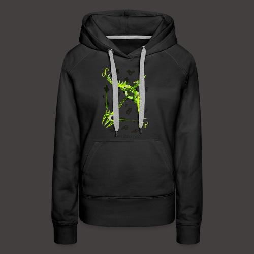 Sagittaire original - Sweat-shirt à capuche Premium pour femmes