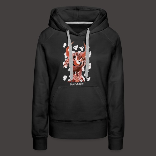 Taureau Négutif - Sweat-shirt à capuche Premium pour femmes