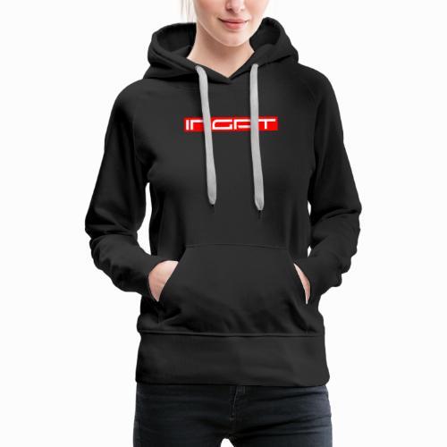 Modern Ingat Print - Frauen Premium Hoodie