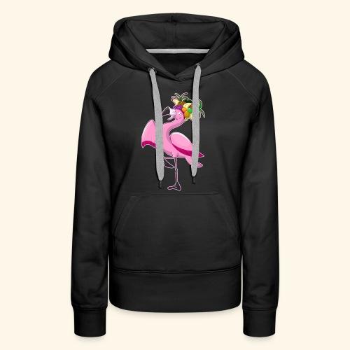 Flamingo - Frauen Premium Hoodie