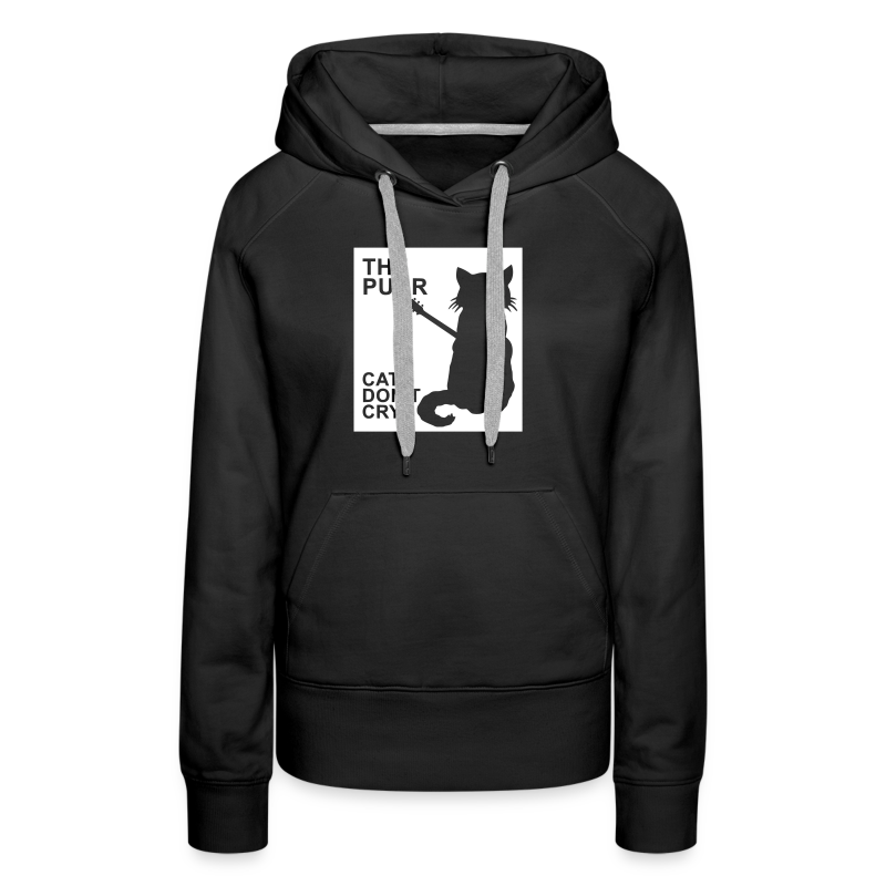 The Purr - Cats Don't Cry - Frauen Premium Hoodie