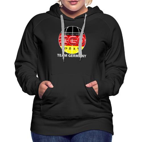 ICO Kickboxing Team Germany - Frauen Premium Hoodie