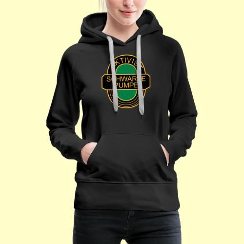 BSG Aktivist Schwarze Pumpe - Frauen Premium Hoodie