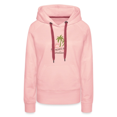 Summer paradise - Women's Premium Hoodie