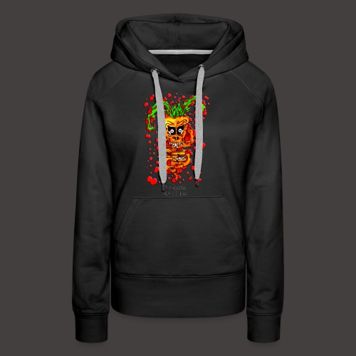 Bunny Carrot - Sweat-shirt à capuche Premium pour femmes