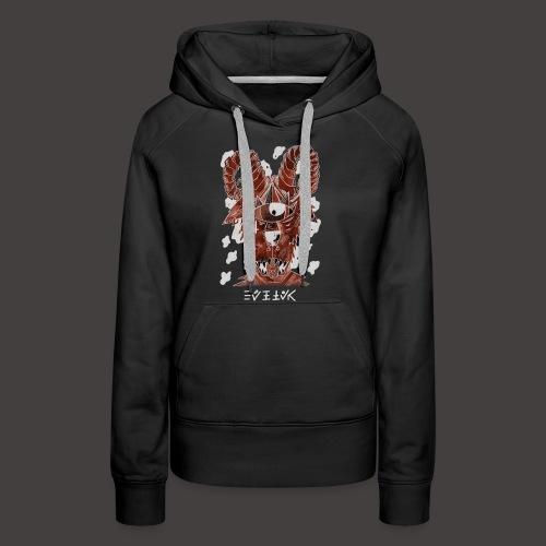 Belier Négutif - Sweat-shirt à capuche Premium pour femmes
