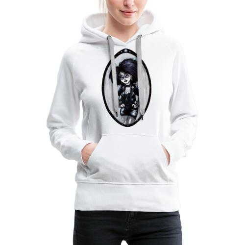 Trad Goth Art by E. R. Whittingham - Women's Premium Hoodie