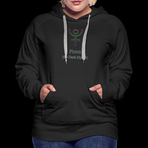 Pluton Logo - Frauen Premium Hoodie