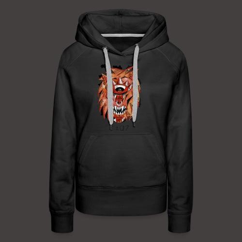 lion original - Sweat-shirt à capuche Premium pour femmes