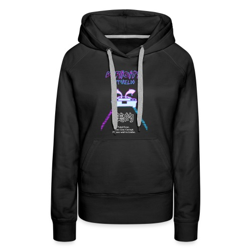 BACK TO THE FUTURE DUP - Women's Premium Hoodie