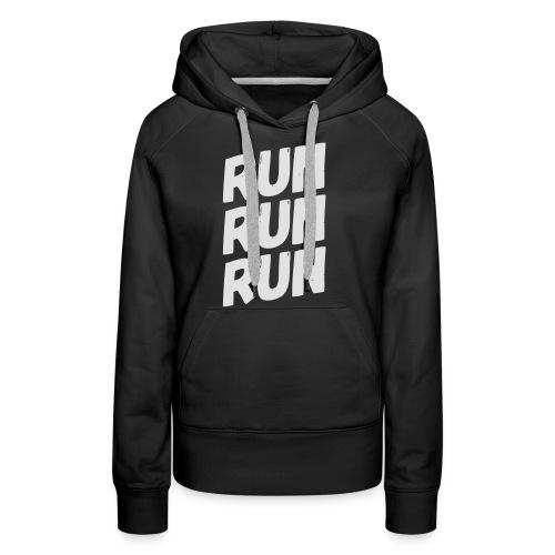 run run run - Frauen Premium Hoodie