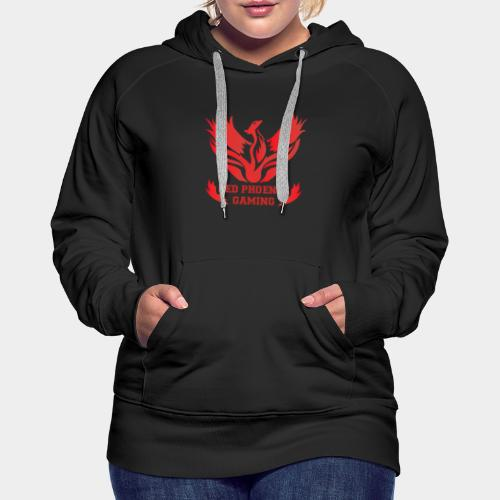 Red Phoenix Gaming - Sweat-shirt à capuche Premium pour femmes