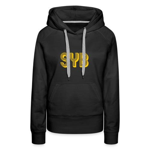 SYB Real Estate - Sudadera con capucha premium para mujer
