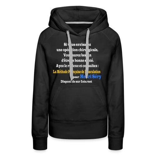 LMF Chirurgie v2 - Sweat-shirt à capuche Premium pour femmes