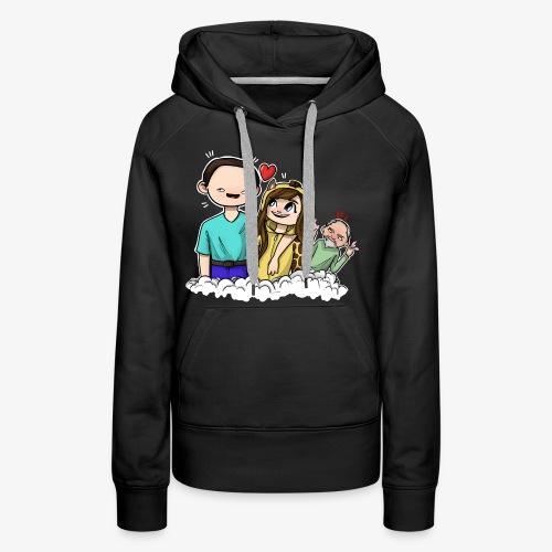 *Limited Edition* Esmee ❤️ Teun (Boze vader) - Vrouwen Premium hoodie