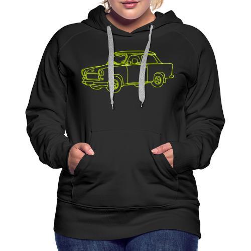 Trabi, Trabant, Kleinwagen der DDR - Frauen Premium Hoodie