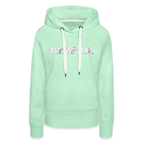 bostin uk white - Women's Premium Hoodie