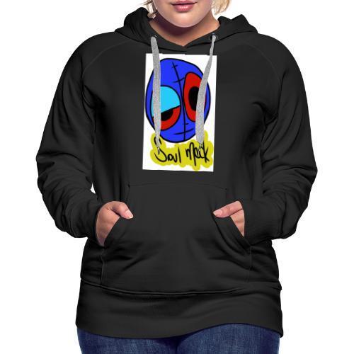 Sin motivo - Sudadera con capucha premium para mujer