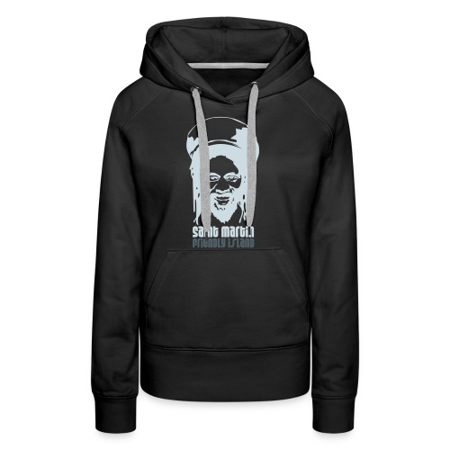 Rasta man - Sweat-shirt à capuche Premium pour femmes